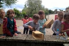 Fabrication de nichoirs