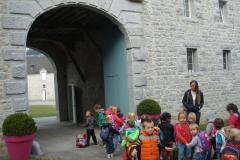 Les classes maternelles au château de Modave